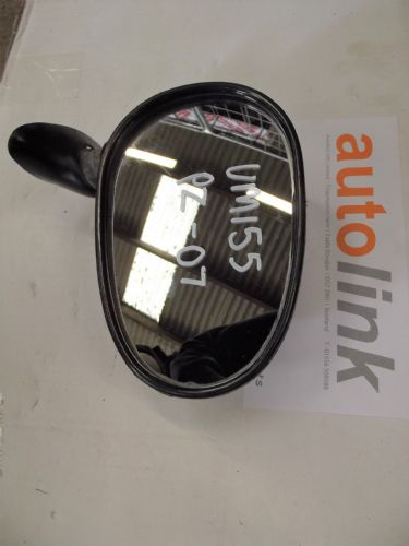 Door Mirror, Mazda MX-5 mk1, r/h, black, PZ, right hand, USED 07